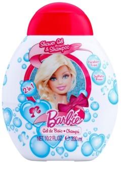 Air Val Barbie gel de duche para crianças 300 ml