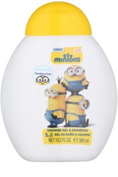 Air Val Minions gel de ducha para niños