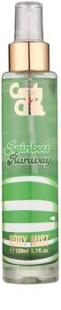 Air Val Candy Crush Rainbow Runway spray de corpo para crianças 150 ml