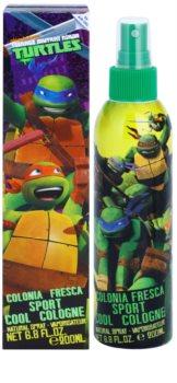 Air Val Turtles spray de corpo para crianças 200 ml