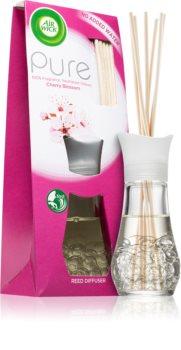 Air Wick Pure Cherry Blossom aroma difuzor s polnilom z vonjem cvetja
