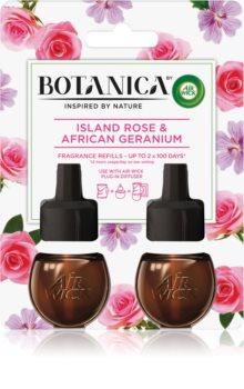 Air Wick Botanica Island Rose & African Geranium пълнител за електрически дифузер с аромат на рози DUO
