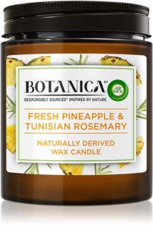 Air Wick Botanica Fresh Pineapple & Tunisian Rosemary lumânare parfumată