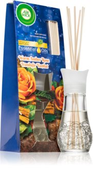 Air Wick Essential Oils Warm Amber Rose aroma difuzer s punjenjem s mirisom ruže
