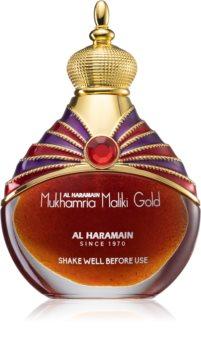 Al Haramain Mukhamria Maliki Gold perfumed oil Unisex