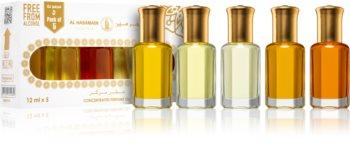 Al Haramain Concentrated Perfume Oils Occidental lote de regalo I. unisex