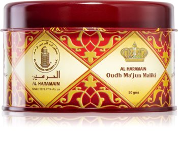 Al Haramain Oudh Ma'Jun Maliki incienso