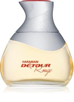 Al Haramain Détour rouge eau de parfum da donna