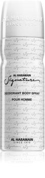 Al Haramain Signature déodorant en spray pour homme