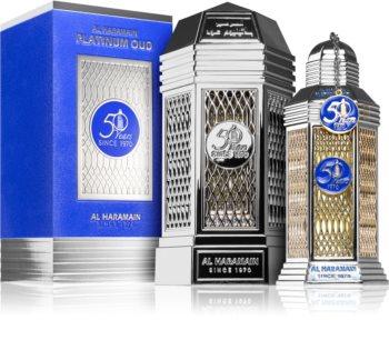 Al Haramain Platinum Oud 50 years Eau de Parfum unisex