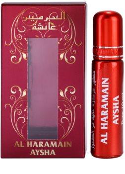 Al Haramain Aysha óleo perfumado unissexo (roll on)