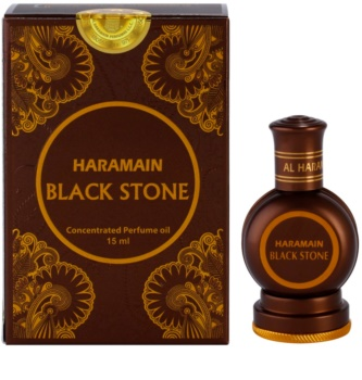 Al Haramain Black Stone parfumirano olje za moške