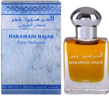 Al Haramain Haramain Hajar illatos olaj unisex