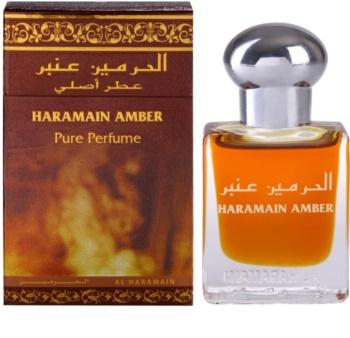 Al Haramain Haramain Amber aceite perfumado unisex