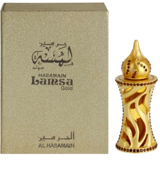 Al Haramain Lamsa Gold perfumed oil Unisex