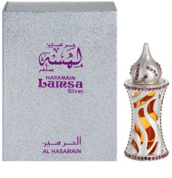 Al Haramain Lamsa Silver parfémovaný olej unisex