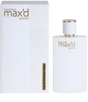 Al Haramain Max'd eau de parfum hölgyeknek
