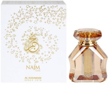 Al Haramain Najm Gold parfémovaný olej unisex