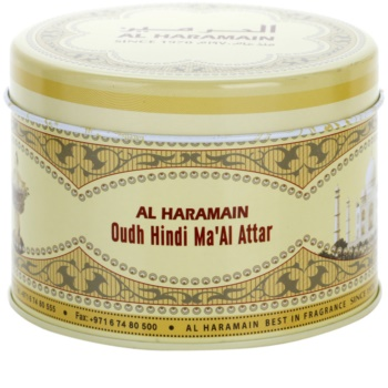 Al Haramain Oudh Hindi Ma'Al Attar incienso