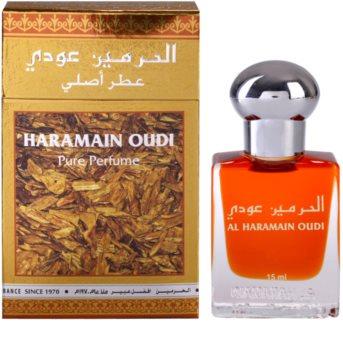 Al Haramain Oudi парфумована олійка унісекс