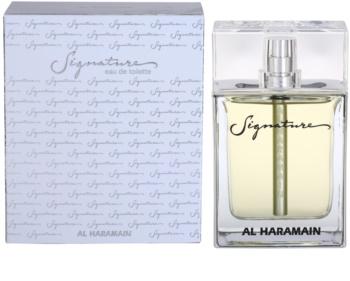 Al Haramain Signature Eau de Toilette pentru bărbați