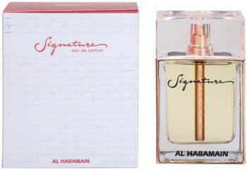 Al Haramain Signature eau de parfum hölgyeknek