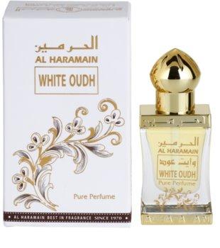 Al Haramain White Oudh aceite perfumado unisex 12 ml