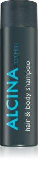 Alcina For Men Shampoo  voor Haar en Lichaam