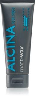 Alcina For Men матирующий воск для укладки волос