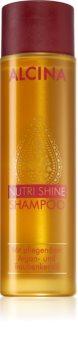 Alcina Nutri Shine θρεπτικό σαμπουάν με έλαιο αργκάν