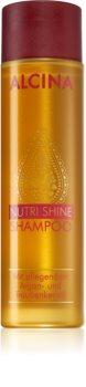 Alcina Nutri Shine подхранващ шампоан  с арганово масло