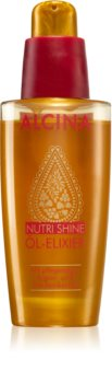 Alcina Nutri Shine Oil Elixir for Smooth and Glossy Hair