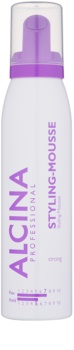 Alcina Strong Styling Mousse For Volume And Shine