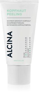 Alcina Sensitive Line čisticí peeling pro citlivou pokožku hlavy