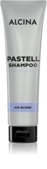Alcina Pastell shampoing rafraîchissant pour les cheveux blonds froids ayant subi une décoloration ou un balayage
