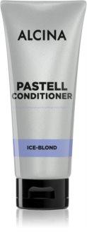 Alcina Pastell Balsam revigorant pentru păr în nuanțe reci de blond, decolorat sau șuvițat
