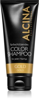 Alcina Color Gold champú para tonos rubios cálidos