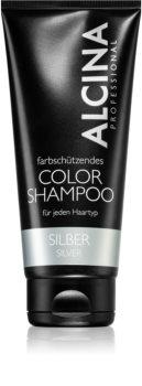 Alcina Color Silver champô para tons loiros frios de cabelo