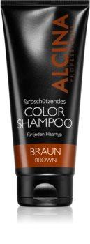 Alcina Color Brown Hiustenpesuaine Ruskeille Hiuksille