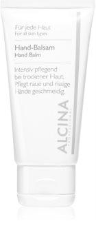 Alcina For All Skin Types Käsibalsami Kuivalle Ja Halkeilevalle Iholle