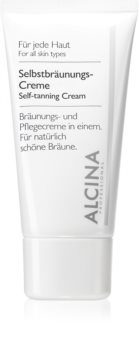 Alcina For All Skin Types crema autobronceadora facial