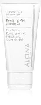 Alcina For All Skin Types čistiaci gél s aloe vera a zinkom