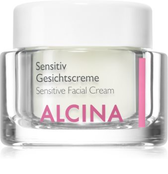 Alcina For Sensitive Skin pomirjajoča krema za obraz