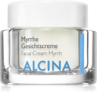 Alcina For Dry Skin Myrrh creme facial com efeito antirrugas