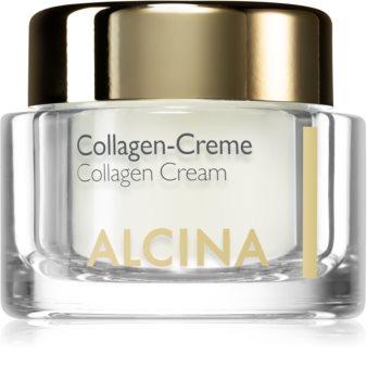 Alcina Effective Care creme facial com colagénio