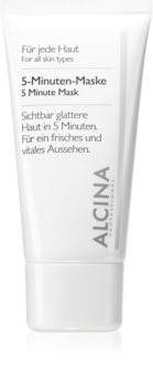 Alcina For All Skin Types 5-minutters opfriskende ansigtsmasker