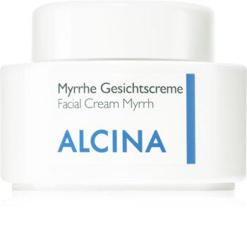 Alcina For Dry Skin Myrrh Gezichtscrème  met Anti-Rimpel Werking
