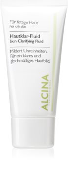 Alcina For Oily Skin fliud ziołowy z efektem rozjaśniającym