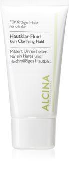 Alcina For Oily Skin Vätska från örter med uppljusande effekt