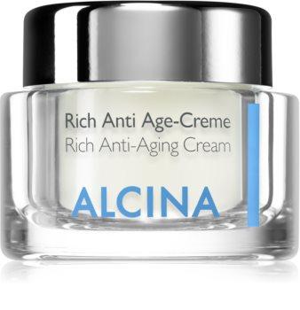 Alcina For Dry Skin krem odżywczy przeciw starzeniu się skóry